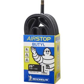 Michelin C4 Airstop Dętka rowerowa, 26 cali, czarny